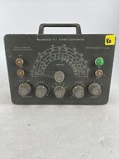 Rare Vintage Healthkit Rf Signal Generator Powers On