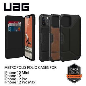 Urban Armor Gear (UAG) iPhone 12 Mini Pro Max Metropolis Folio Flip Case Cover
