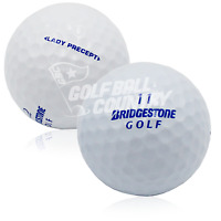 24 Bridgestone Lady Precept White Near Mint AAAA Used Golf Balls - FREE Shipping