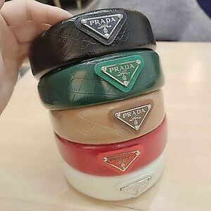 Prada headband - Leather