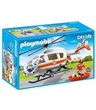 Playmobil Helicóptero Médico emergencia