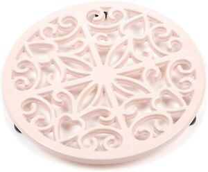 Simply Home Cast Iron Trivet 20cm Pink Work Top Protector