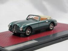 Matrix Scale Models 1951 Aston Martin DB2 Vantage DHC Cabriolet open green 1/43