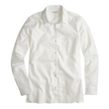 JCrew Demylee™ Simone shirt White B1320 Size L $170