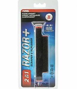 Razor+ 2-in-1 Algae Magnet Scraper Medium - Fluval