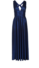 1460d32c1e17 Forever Unique Ashlyne Maxi Dress UK Size 6 Td172 KK 07