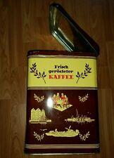 Übersee kaffee Tante Emma Antik Cabinetdose Blechdose shabby Riesen gross