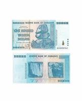 Zimbabwe 100 Trillion Zimbabwe Dollars Uncirculated Note