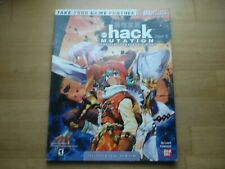 .hack Mutation - Bradygames Official Strategy Guide