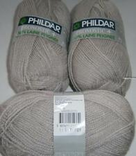 YARN PHILDAR PRONOSTIC + - LINEN - LOT OF 15 BALLS-  (double knitting)