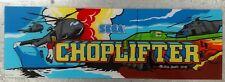 "Vintage ""Choplifter"" Arcade Video Game Marquee by Sega"