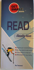 """READ REALLY FAST"" by Roz Townsend, 6 easy steps to rapid reading, VG+"