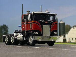 "1/64 DCP RED/BLACK 352 PETERBILT 86"" COE"