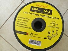 FIRMERST 16/2 Low Voltage Landscape Wire Outdoor Lighting Cable UL Listed 500 ft