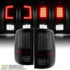 Black Smoke [C Strip Design] 2009-2018 Dodge Ram 1500 2500 3500 LED Tail Lights