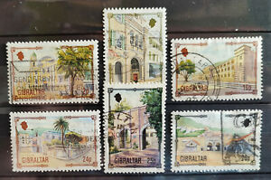 Gibraltar 1993, Architectural Heritage part set 6 values USED
