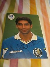 Di Matteo Chelsea Official Signed Photo Direct From The Training ground
