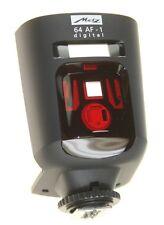 Metz Mecablitz 64 AF-1 hot shoe flash Canon Fit PISTOLA GENUINE New
