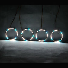 RGBW Angel Eyes Revolving Lights LED Rolling Light For Car Motorcycle 70mm&80mm