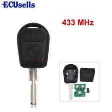 3 Button for BMW 3 5 7 X5 X3 Z4 E38 E39 E46 Remote Key HU58 433MHZ 7935 Chip