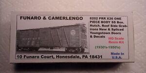 FUNARO & CAMERLENGO PENNSYLVANIA RR SINGLE SHEATHED BOXCAR KIT