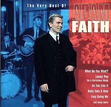 Adam Faith 'THE VERY BEST OF..' CD - UK MFP