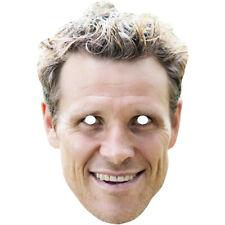 James Cracknell Celebrity Athlete Rower Olympics Card Mask - Made By Funkybunky