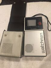 Sony Watchman Tv�Good Condition� Powers up