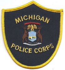 **MICHIGAN POLICE CORPS POLICE PATCH**