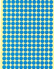 10mm Coloured Dots Round Stickers Sticky Adhesive Spot Circle Paper Labels BN UK