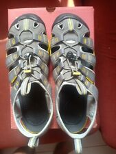 Keen Clearwater CNXSandalsGargoyle Super Lemon Hiking Sandals Shoes UK8.5, US9.5