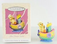 Hallmark Keepsake Easter Ornament 1997 Here Comes Easter Duck in Tugboat New