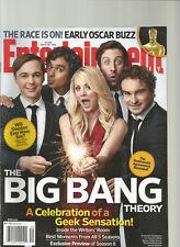 ENTERTAINMENT WEEKLY MAGAZINE SEPTEMBER 26, 2012  #1226, BIG BANG THEORY.