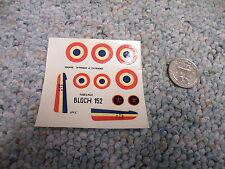 Heller decals 1/72 Bloch 152   L128