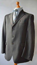 "Men's Grey , Aquascutum 100% Wool Suit, Size Chest 42R, W33"" L30""."
