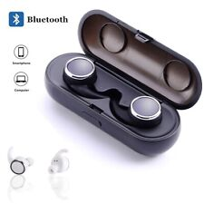 Bluetooth Headsets Noise Cancelling Earphones with Charging Box for iOs Android