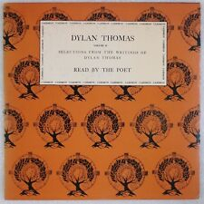 DYLAN THOMAS: Reads Selections of Poems, Vol 2 Poet CAEDMON Spoken Word LP