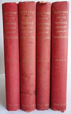 History Ancient Honorable Artillery Company Massachusetts 4 Volume 1637-1888