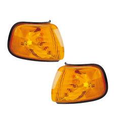 Parking Corner Signal Lights Pair Set for 98-03 Dodge Van Left & Right