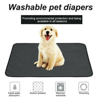 Waterproof Pad Bed Mat Washable Reusable Pee Pad Cushion For Pet Dog Crates FAN