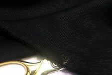 NEW Smooth Textured Black Silk/Viscose Rayon Blend Craft/Lining Fabric*FREE P&P*