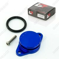 32mm BLUE ALUMINIUM SWIRL FLAP REPLACEMENT O-RING + SCREW FOR BMW 3 / 5 SERIES