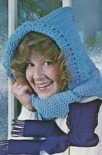 Crochet Pattern ~ Hooded Scarf ~ Instructions
