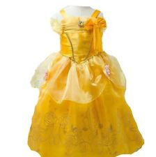 New Belle Inspired Princess Dress Size 6-7 Inspired By Beauty & The Beast