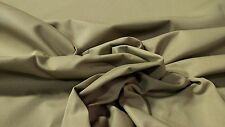 "Canvas Twill Fabric Khaki 8 Oz Cotton Poly 67"" W Upholstery Apparel By The Yard"
