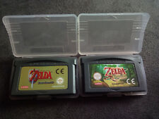 LOTE GBA ZELDA Game Boy Advance LINK TO THE PAST & A MINISH CAP