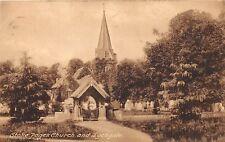 STOKE POGES BUCKINGHAMSHIRE UK CHURCH & LYCHGATE FRITHS SERIES POSTCARD