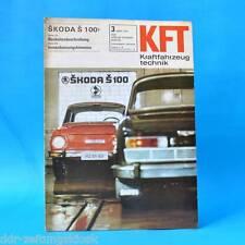 DDR KfT Kraftfahrzeugtechnik 3/1970 DKW RT 159 Skoda S 100 Hercules K 50 RX