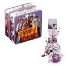 Disney Camp Rock Girl Black/Silver Id Bracelet Watch Jonas Brother Collector Tin