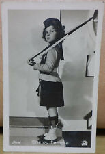 VTG 1930's MOVIE CARD SHIRLEY TEMPLE